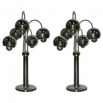 Chrome Eyeball Lamps