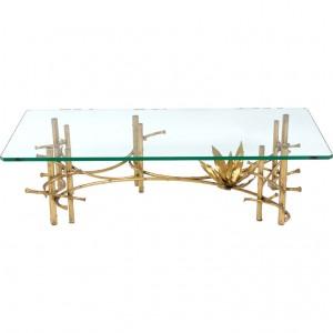 Brutalist Lotus Table