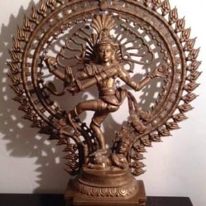 Vintage Bronze Shiva Nataraja