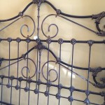 Antique Iron & Brass Bed