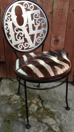 Arthur Umanoff Iron Love Chair