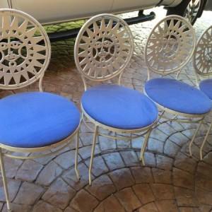Arthur Umanoff Celestial Mayan Sun Chairs